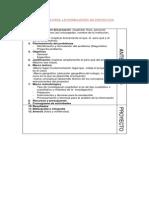 Criterios Formulacion de Proyectos