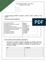 Test Franceza Pentru Didactic