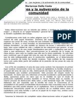 Mariarosa dalla Costa - Las mujeres y la subversión de la comunidad (1971)