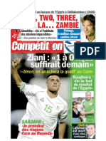 Edition du 10 octobre 2009