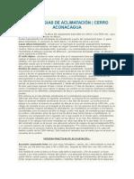 ESTRATEGIAS DE ACLIMATACIÓN