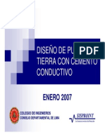 Curso Pat y Prot Contra Rayos Sisproint 2007