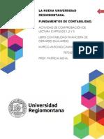 ACTIVIDAD COMPROBACIÓN DE LECTURA, FUNAAMENTOS DE CONTABILIDAD