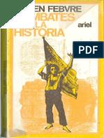 Combates Por La Historia Lucien Febvre