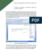 Manual Indice en Word