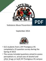 Lets Talk Safety