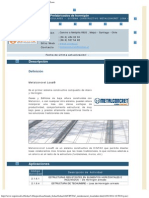 RTM - CINTAC _ Sistema Constructivo Metalconcret Losa