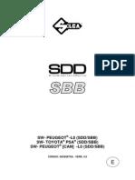 3 Sbb Manual Peugeot