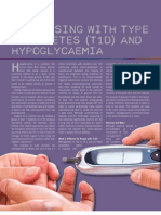 Exercising with Type 1 Diabetes (T1D) and Hypoglycaemia by Allan Bolton