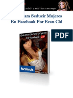 Guía para Seducir Mujeres en Facebook por Evan Cid 2.0