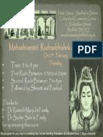 Shivratri 2014 leaflet