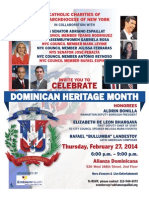 Dominican independence Day Celebration - Dominican Heritage Month