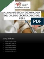 Codigo de Etica y Deontologia Del Colegio Odontologico Aaaaa