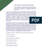 Analisis Comparativo en Los Planes Nacionales 2007