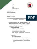 Guía de aprendizaje Cineforo Los tres idiotas,  Métodos cualitativos.docx