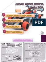 Kit Model Kereta Lumba