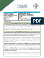 Programa de estudio - Centrales Eléctricas - Rev. 2013