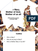 PhpJzrm9YMother Mary - 6 October 09