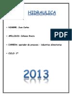 Catalogo de elemntos hidráulicos