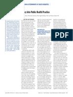 Potvin AJPH 2005 Social Sciences & Theory in Public Health