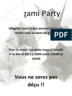 Origami Party