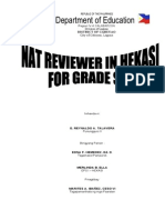 Nat Reviewer of Grade Six