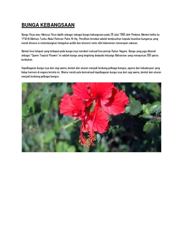 Bunga Kebangsaan Docx