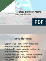 8b - ionic bonding