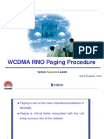 C04 WCDMA RNO Paging Procedure