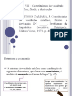 Aula3-Mattoso - Cap VII (1)