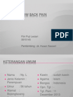 Fitri - Low Back Pain