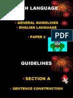 Guideline for Upsr Paper 2