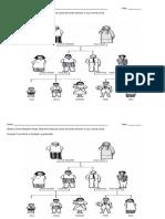 Worksheets FAMILY TREE