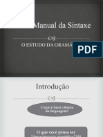 Slide (Novo Manual de Sintaxe)
