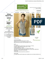 Athena Tabard Tunic designed by Doris Chan