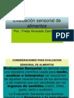 Evaluación sensorial de alimentos