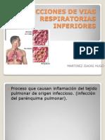 Infecciones de Vias Respiratorias Inferiores