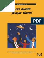 Los ovnis, ¡vaya timo! de Ricardo Campo