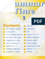 Grammar Time1 Unit1 (page 1-11)