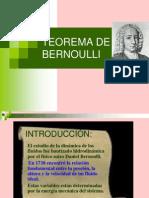 Tecno Teorema de Bernoulli, Reynolds