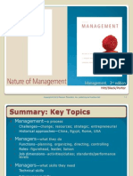 Chapter 1 - The Nature of Management mgmt 300