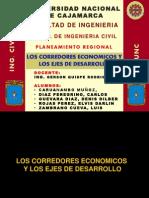 Corredores Economicos y Ejes de Integracion Territorial