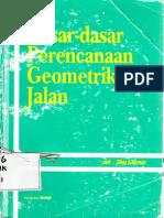 Dasar - Dasar Perencanaan Geometrik Jalan (Silvia Sukirman)