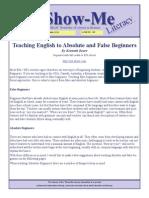 AEL Show-Me Literacy Newsletter Nov2010 Teachers