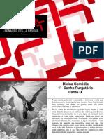Sonhos Purgatório de Dante