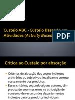 Custeio ABC