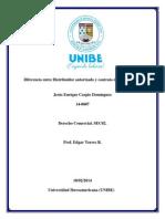 Diferencia Entre Distribuidor Autorizado y Contrato de Exclusividad