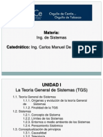 Ing. de Sistemas - UNIDAD I