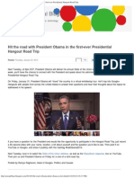 Official Blog_ Hit the Road With President Obama in the First-ever President