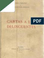 Arenal Concepcion - Cartas a Los Delincuentes